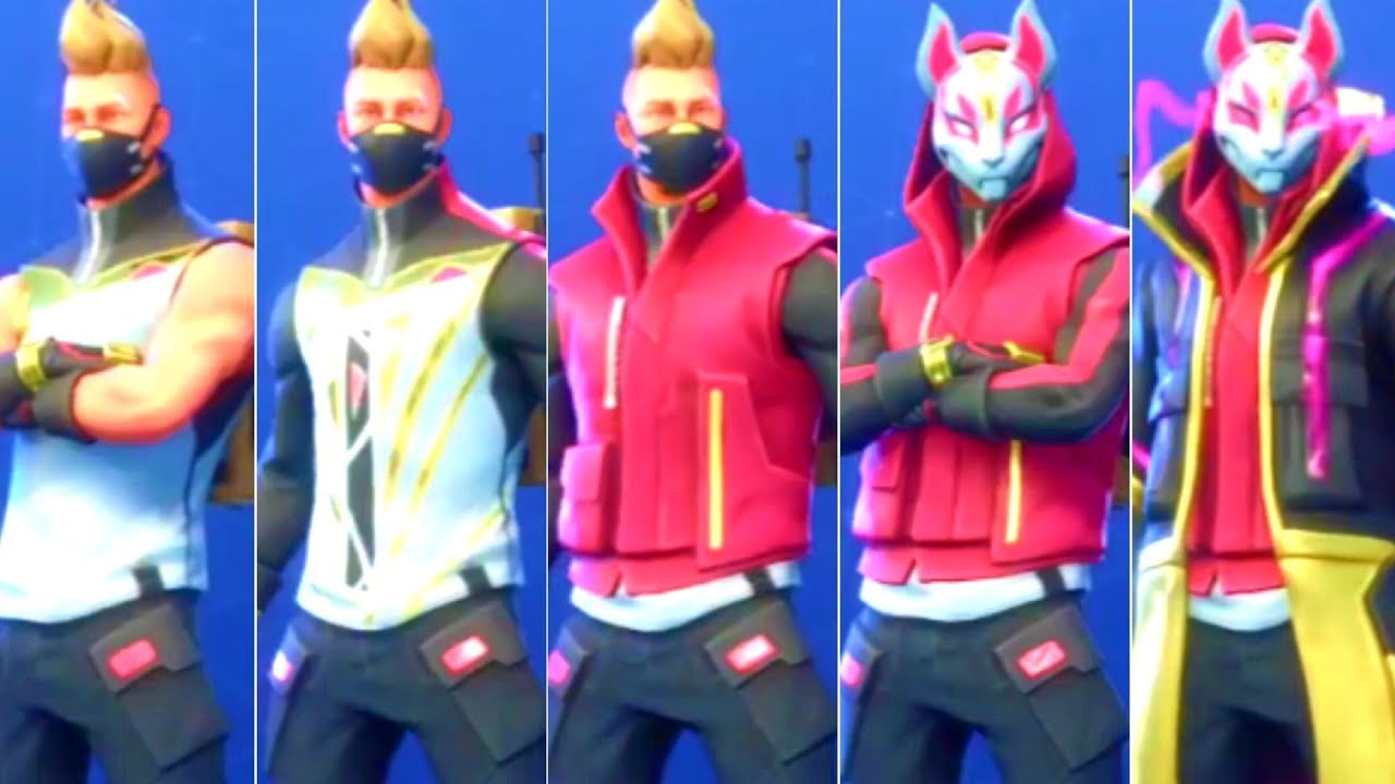 Fortnite Drift Skin All Phases 1 6 New Season 5 Skin Youtube You can also upload and share your favorite drift fortnite wallpapers. fortnite drift skin all phases 1 6