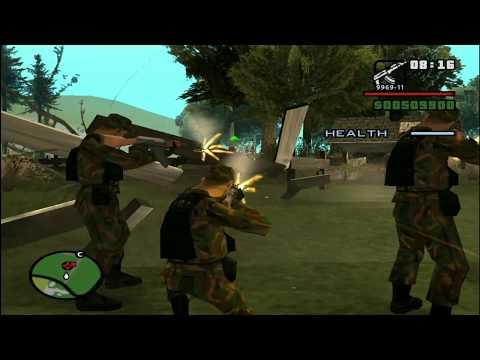 Освобождение Джибрииль от армян мод GTA San Andreas