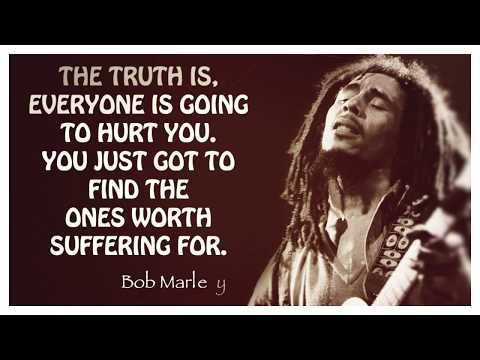 Famous Quote | Bob Marley | The Truth is...