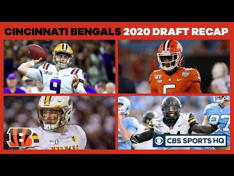 The Bengals LAY THE FOUNDATION with a solid draft class | 2020 NFL Draft Recap | CBS Sports HQ