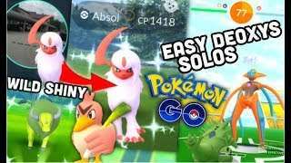 WILD SHINY REGIONALS \u0026 ALOLAN VULPIX IN POKEMON GO | EASY DEOXYS SOLOS