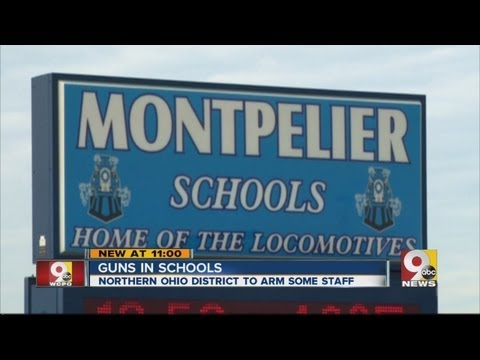 Ohio school district will allow non-teaching staff to carry firearms