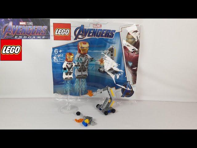 Lego Avengers Endgame 30452 Iron Man & Dum-E Polybag - Review, Speed Build