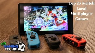 Top 25 Nintendo Switch Local Multiplayer Games - 2018 Edition
