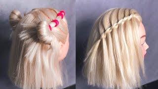 ПРИЧЕСКИ на Каждый день на Короткие Волосы Short Hairstyles LOZNITSA
