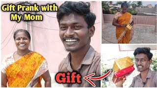 Gift🎁 Prank with My mom | First time I gave gift🎁 for my Mom😍 | Dhanaraj Vlogs