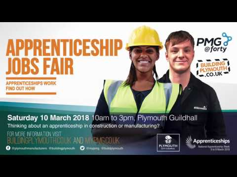 Apprenticeship Jobs Fair Plymouth 2018 Promotional Video