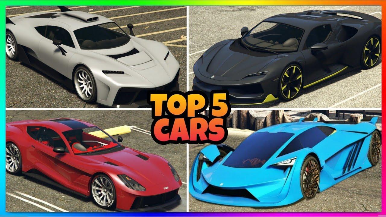 Top 5 SCHNELLSTE Autos in GTA 5 ONLINE 2021❗- Supersportwägen und Sportwägen
