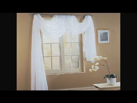 How To Fold A Scarf For Window Decorating Unique Interior Ideas