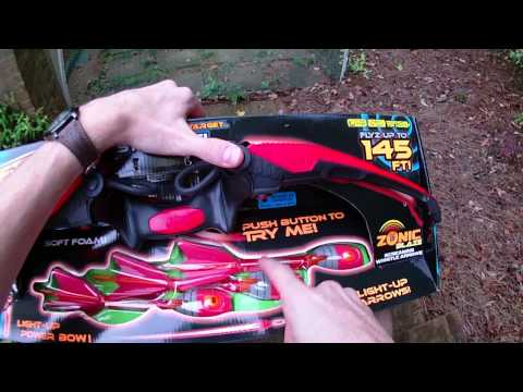 Review: The NEW Zing Firetek Bow (Day and Night Firing Demos)