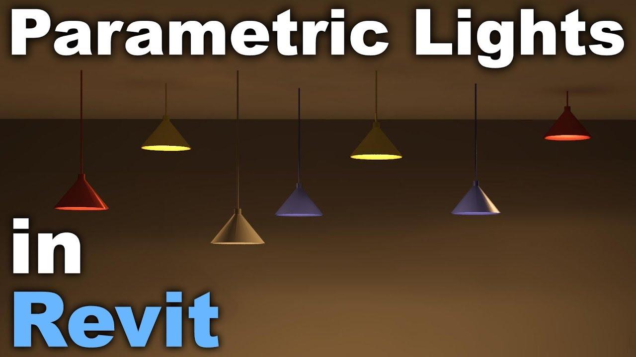 Parametric Functional Light Family In Revit Tutorial