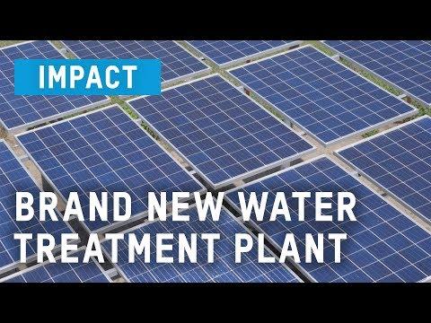 Brand New Water Treatment Plant   Oxfam GB