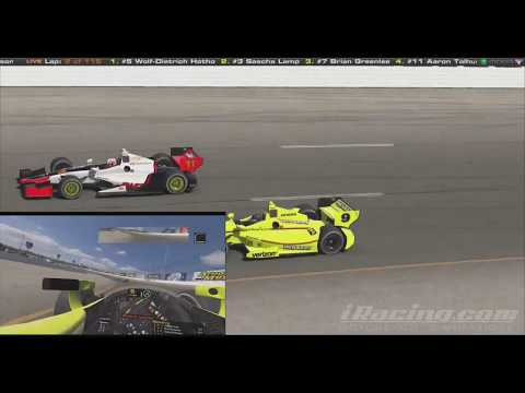 "Baird iRacing VR ""Hometown Win"" Indy Oval at Iowa"