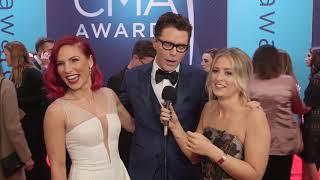 Bobby Bones Rachel Wammack CMA Red Carpet 2018