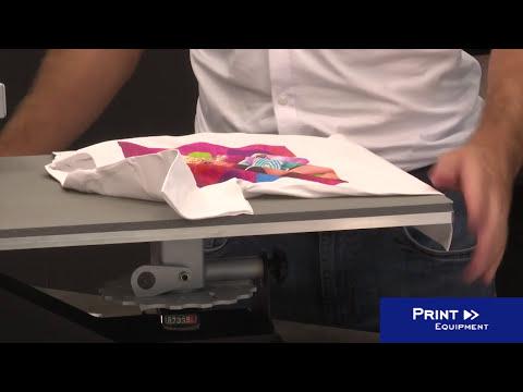 Impression sur textiles clairs (ici : tee-shirts) avec le papier transfert FOREVER