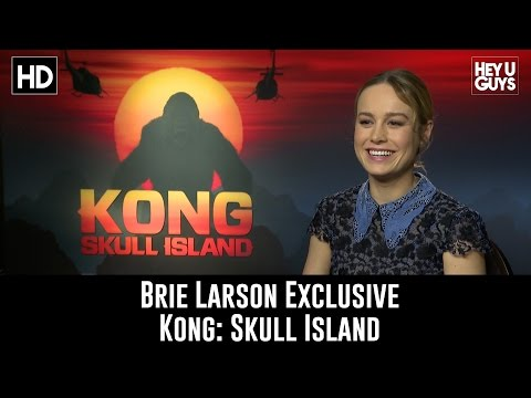 Brie Larson Exclusive Interview - Kong: Skull Island