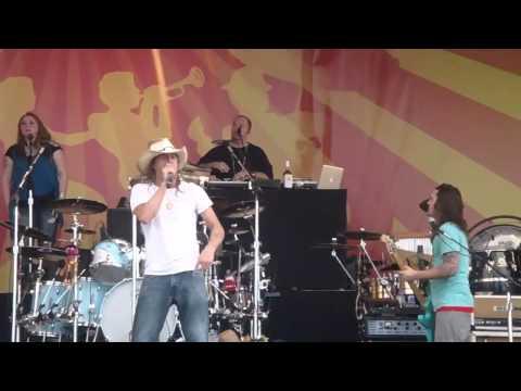 Kid Rock Jazz Fest 2011 New Orleans Cowboy