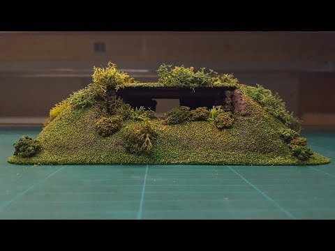 Let's Make - Cheap & Easy Wargaming Log Bunkers