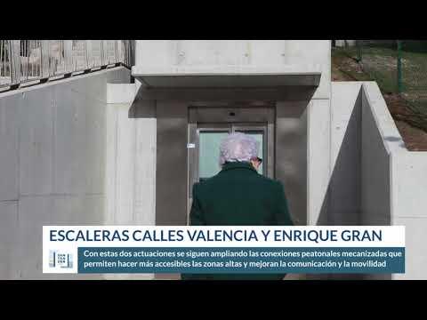 Escaleras calle valencia y Enrique Gran