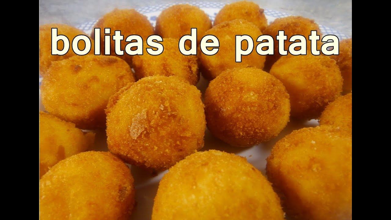Receta bolitas de papa recetas de cocina faciles rapidas for Platos faciles de cocinar