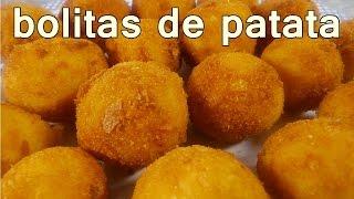 receta BOLITAS DE PAPA | recetas de cocina faciles rapidas y economicas | comidas y cenas ricas