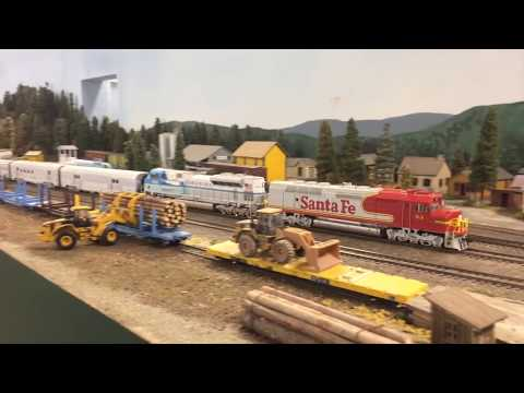 Southern Oregon HO Scale Model Train Layouts
