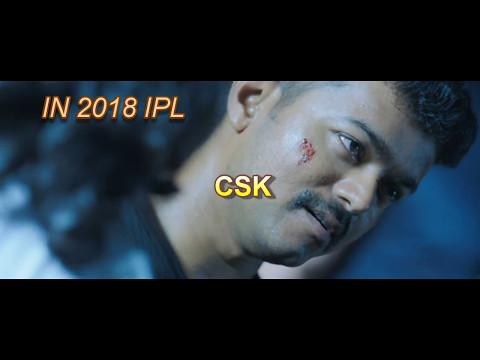 CSK RETURN IN 2018 IPL 1080P (THERI...