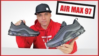NIKE AIR MAX 97 ORIGINAL Review Unboxing On feet