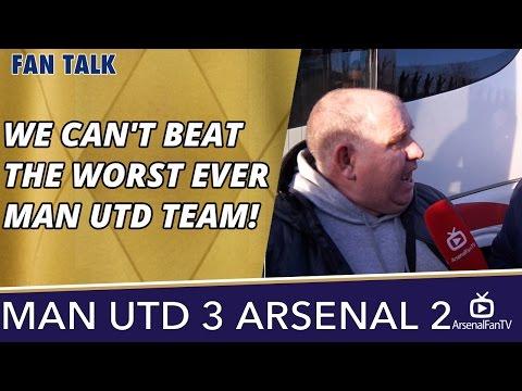 We Can't Beat The Worst Ever Man Utd Team!  | Man Utd 3 Arsenal 2