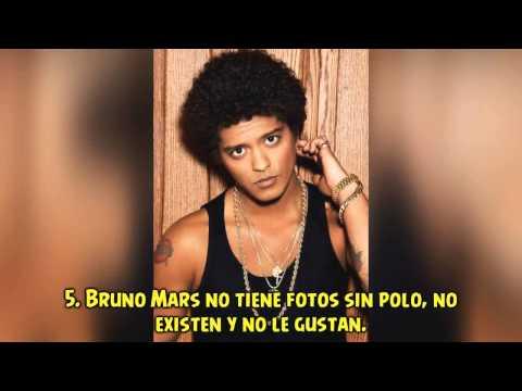 Bruno Mars cosas que no sabias