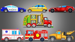 Download Street Vehicles | LearnIng Vehicles | Car Cartoon | Video For Kids Mp3 and Videos