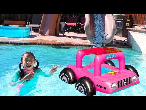 Swimming Pool Sharing Song | Wendy Pretend Play Nursery Rhymes & Kids Songs