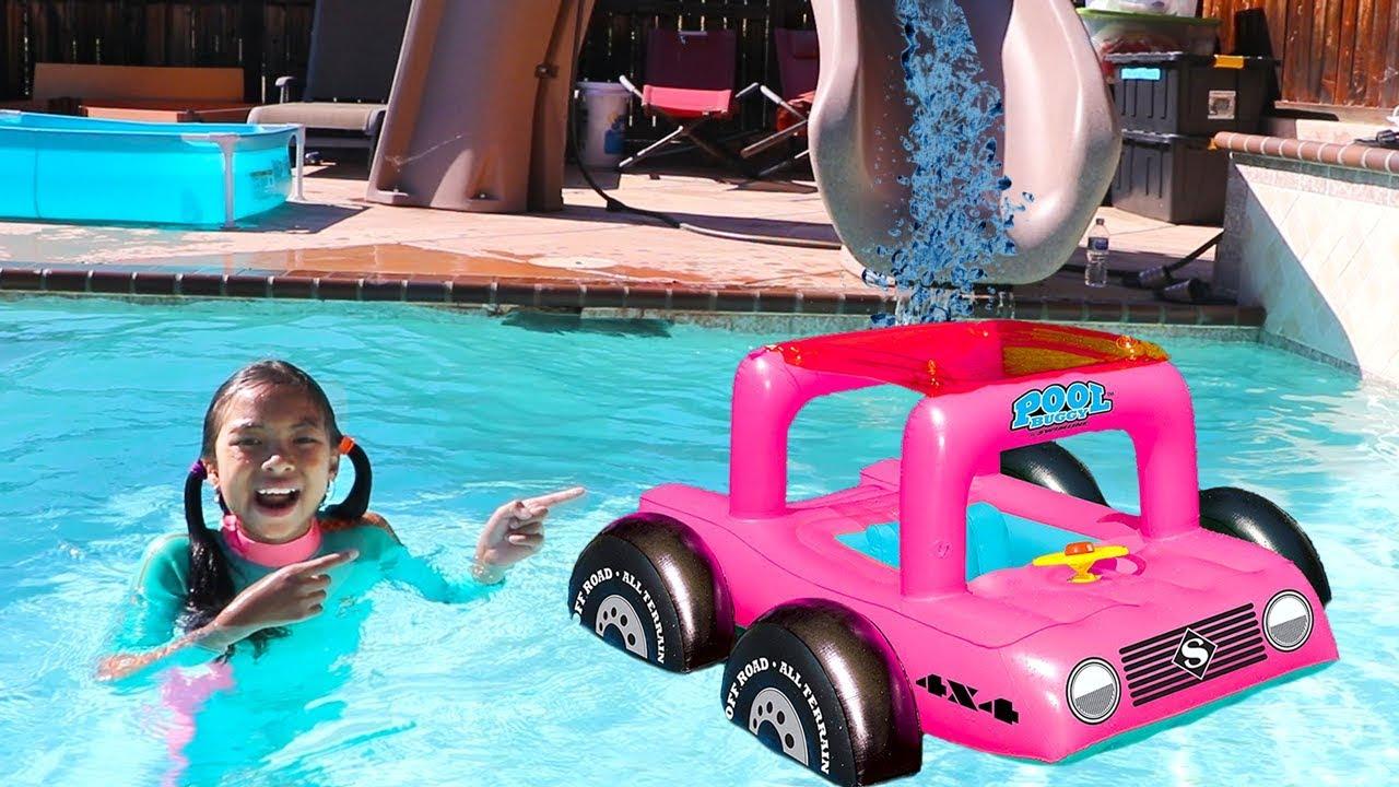 Swimming Pool Sharing Song   Wendy Pretend Play Nursery Rhymes & Kids Songs