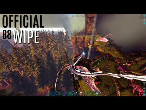 WIPING OFFICIAL 88 (THTGG) Highlights - Official PVP - ARK Survival