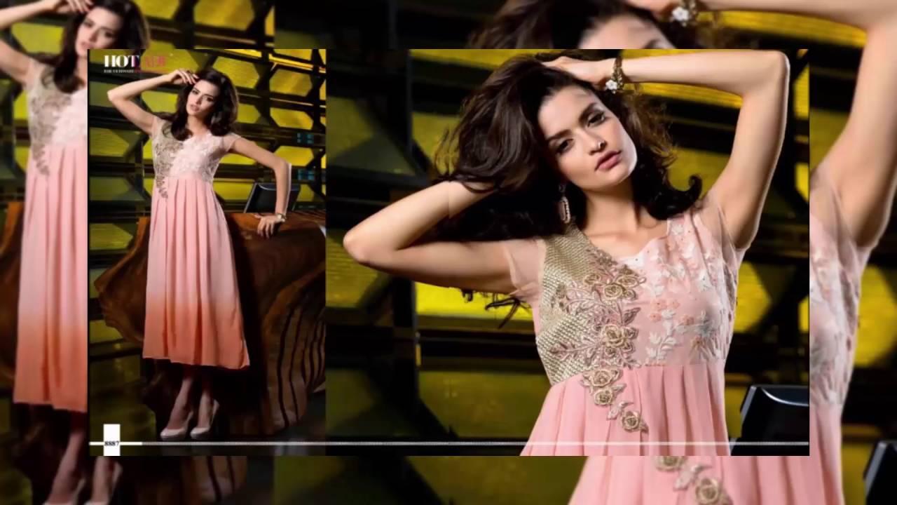 Designer Indian Party Wear Dress Georgette Designer Kurtis