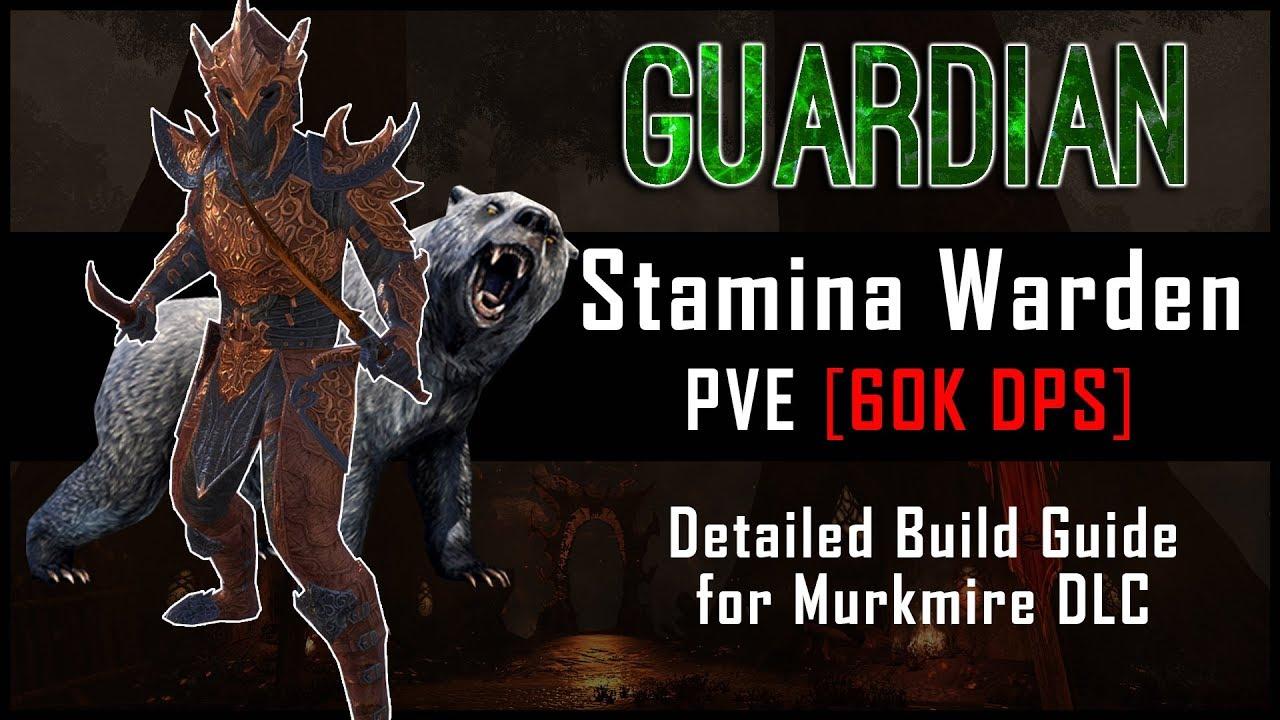 Stamina Warden Build [60k DPS] - Murkmire DLC