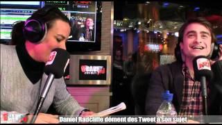 Daniel Radcliffe dément des tweet à son sujet - C'Cauet sur NRJ