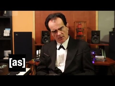 Unknown Hinson Behind the Scenes Recording Squidbillies Theme Song | Squidbillies | Adult Swim