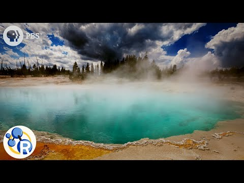 Yellowstone and Their Steaming Acid Pools of Death