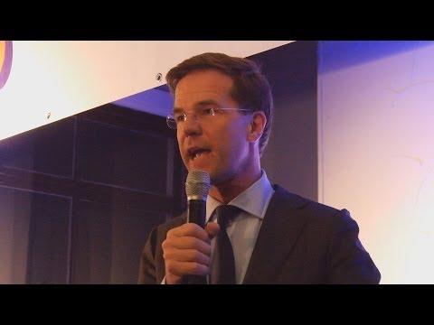 Interview Minister President Mark Rutte bezoek Kampen