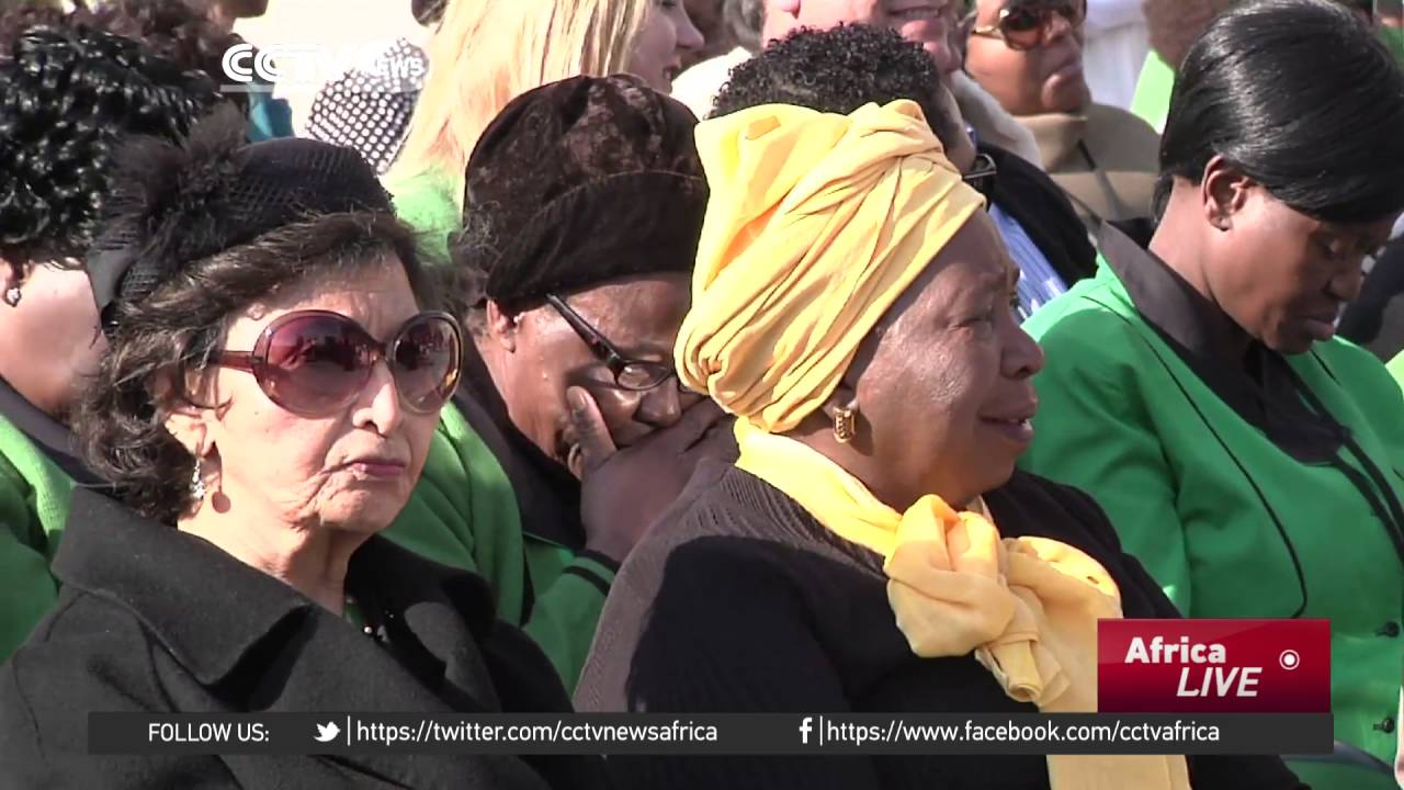 South Africans mark National Women's Day.