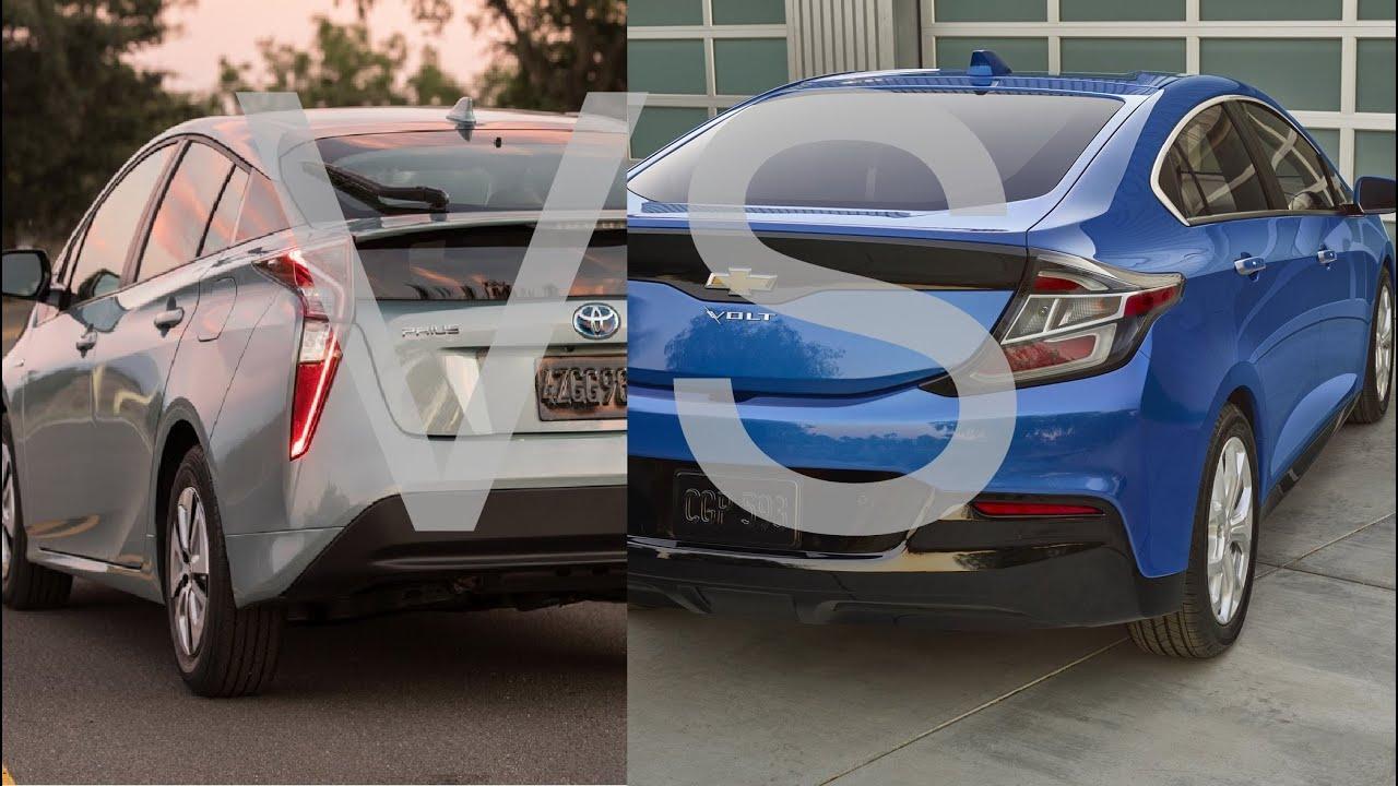 2016 Toyota Prius Vs Chevy Volt