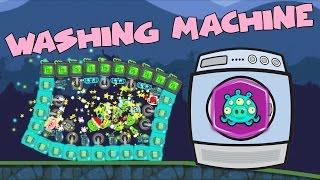 Bad Piggies REQUEST #2: REAL WASHING MACHINE in Bad Piggies 2.3.1