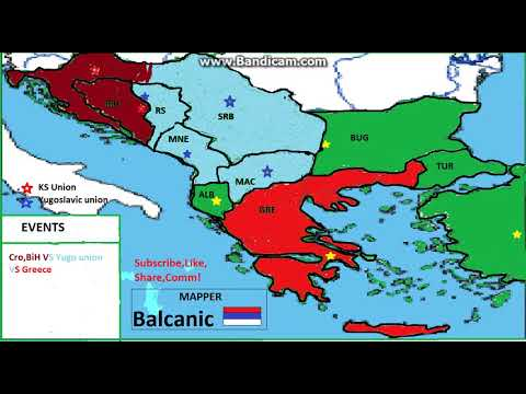 Alterantive Future Of Balkan #2 -555555th Balkan War!-