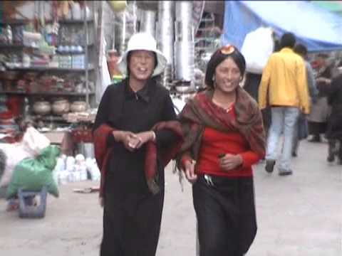 Streets and Markets of Old Lhasa