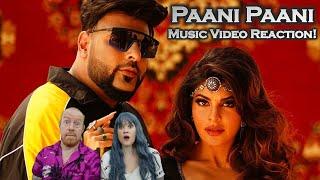 Paani Paani (Badshah, Aastha Gill, Jacqueline Fernandez, 2021) - British Couple Reacts!