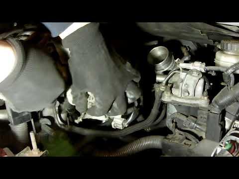 Течет охлаждающая жидкость Toyota Auris 2007 D4D 2.0