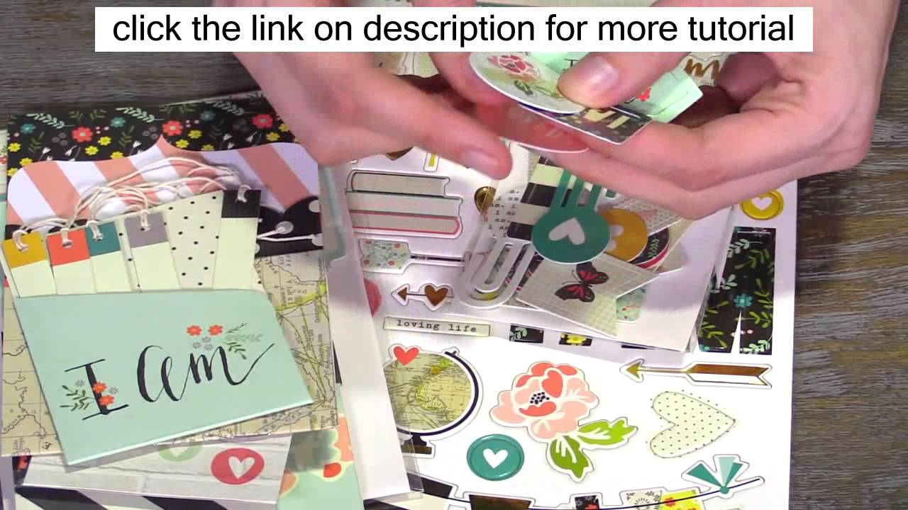Simple Stories I Am Collection Free Scrapbooking Ideas And