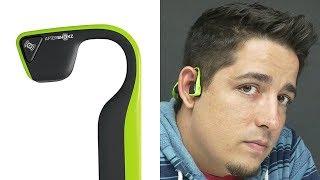 Headphones That Play Through Your Bones!