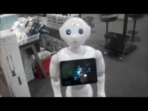 "Softbank Super Robot ""Pepper"""